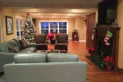 Christmas Living and Dining Rooms