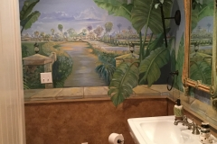 Mural bathroom